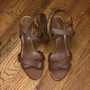 Ralph Lauren Heel Sandals